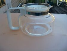Mr Coffee Replacement Decanter Pot TD10 10 Cup White