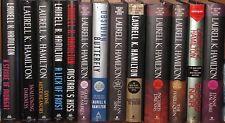 (13) Laurell K. Hamilton Anita Blake Vampire Meredith Gentry Hardcover book lot