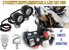 Faretti Supplementari LED 12V 10W 6000K Kit Completo per Ducati Multistrada