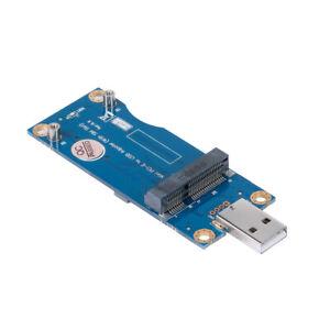 Mini PCI-E to USB Adapter Card WWAN Test Converter Adapter Card 3G/4G SIM Slot