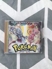 Pokemon First Movie Soundtrack CD