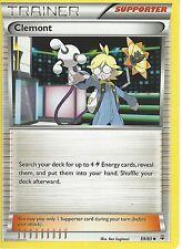 POKEMON GENERATIONS TRAINER CARD - CLEMONT 59/83
