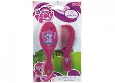 MY LITTLE PONY 2 PC PINK COMB AND HAIRBRUSH BRUSH SET GIRLS TOY GIFT