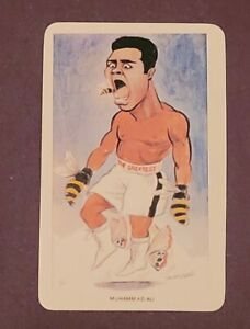 MUHAMMAD ALI 1979 VENORLANDUS #3 *SEE PICTURE FOR CENTERING*