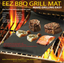BBQ GRILL MAT - As Seen On TV! Make Grilling Easy! (2 Mats Per Pack) Resistant