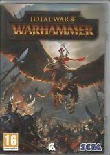Total War: Warhammer (PC/Mac, 2016, DVD-box) buen estado, con Steam key código