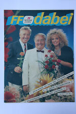 DDR Fernsehzeitschrift FF Dabei RARITÄT 36/1988 TOP !!