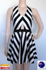 Polyester Hand-wash Only Striped Dresses for Women