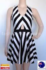 Unbranded Stripes Hand-wash Only Regular Size Dresses for Women