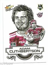 2008 Select NRL Champions Sketch (SK 12) Adam CUTHBERTSON Sea Eagles