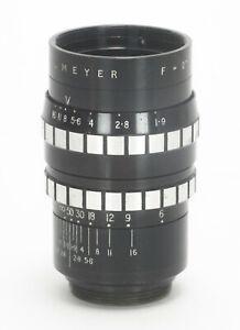 "EXC RARE FAST DALLMEYER 2"" 51mm F/1.9 C-MOUNT 16MM VINTAGE MOVIE LENS BMPCC M4/3"