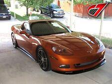 C7 Carbon 2005-2013 Chevrolet Corvette Gloss Black ZR1 Front Splitter Base C6