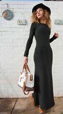 Zara Patternless Casual Regular Size Dresses for Women