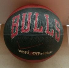 Chicago Bulls Verizon Wireless Mini Basketball Promotional Giveaway Brand New!