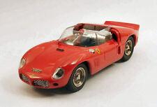 Ferrari Dino 246 SP Prova 1961 Red (New Resin) 1:43 Model 0259 ART-MODEL