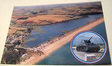 England Devon Torcross and Slapton Ley Sherman Mk V - unposted