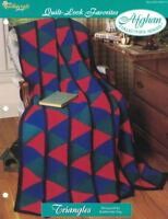 Triangles Quilt Look Favorites Afghan Pattern The Needlecraft Shop 1996 TNS
