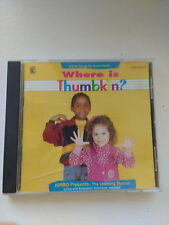 Kimbo The Learning Station: Where Is Thumbkin? CD
