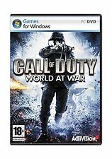 Call of Duty: World at War - PC Disc Standard Free Shipping