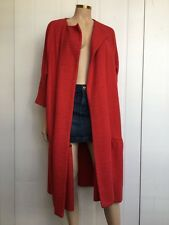 Emilia wickstead superbe soie tweed manteau taille uk 12