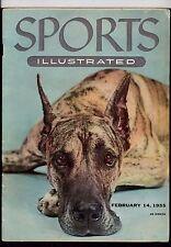 SPORTS ILLUSTRATED- FEBRUARY 1955 - WESTMINSTER, GUNNAR NIELSEN