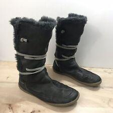 Camper Peu Cami Faux Fur Lined Mid Calf Boots Women's Sz EU 36, US 6 Gray
