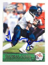 2000 Pacific Autographs Thomas Jones #423 RC Auto  / 300