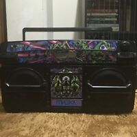 Mishka Lamour X Lasonic i931BTQ bluetooth Boombox - Limited to 200 !