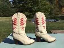 Vintage Costume Cowboy Boots. Size 8