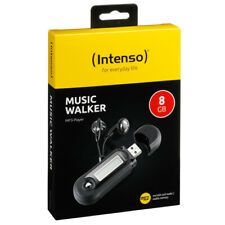 Intenso Music Walker MP3-Player 8 GB USB 2.0 Schwarz 8GB Batteriebetreib WMA MP3