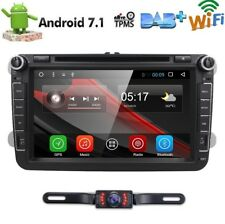 "For VW Jetta Passat Golf 8"" HD Touch Car Stereo GPS DVD Player Radio Android 7.1"