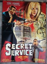 cinema-affiche originale- SECRET SERVICE -120x160 Modele A