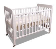 bebe care Euro Cot Baby Crib - White (091010-003)