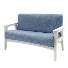1:6 Dollhouse Sofa for BJD Miniature Furniture Living Room Accessories Blue