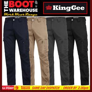 KingGee Narrow Summer TRADIE PANTS - K13290 -  12 Pockets - King Gee