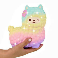 Jumbo 12cm Squishy Alpaca Galaxy Super Slow Rising Cream Scented Fun Animal Toys