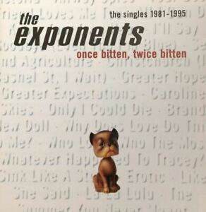THE EXPONENTS once bitten twice bitten (CD, compilation) pop rock, rock, pop,