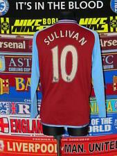 4/5 Aston Villa adults L #10 Sullivan football shirt jersey trikot soccer