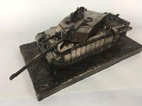 Challenger 2 Desertised Main Battle Tank Cold Cast Bronze Statue