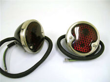1932 to 1942 Ford Pickup Truck & Station Wagon 12 Volt Deluxe Tail Lights Lamps