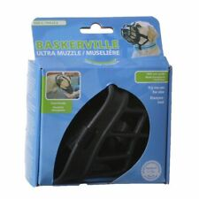 """Lm Baskerville Ultra Muzzle for Dogs Size 2 - Dogs 12-25 lbs - (Nose Circ 10.5"""")"""