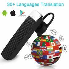 Auricurales Traductor Manos Libres De 33 Idiomas Audifonos Electronico Portatil