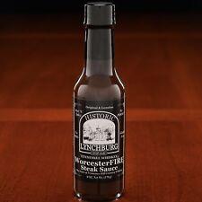 Historic Lynchburg WorcesterFIRE Steak Sauce made with Jack Daniels
