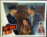 Tenth Avenue Kid LOT 2 Original 1930s Lobby Cards Child Actor Tommy Ryan