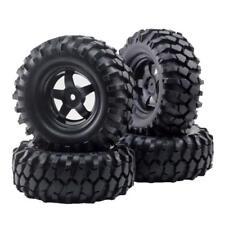4pcs 12mm Hub Wheel Rim & Tires  for 1/10 Off-Road Buggy Truck RC Rock Crawler
