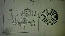 Molla Richiamo Leva messa in moto  Aermacchi H/D SS SX T.V. 350 art 14322