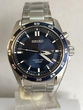 Seiko Kinetic Men's Analogue Blue Dial Stainless Steel Bracelet Watch SKA783P1