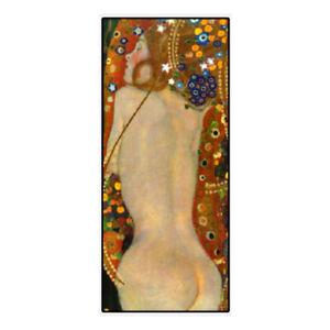 "YA521 Home decor art Klimt oil painting Women Hand-painted copy Unframed 24""x48"""