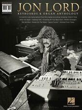 Jon Lord Keyboards & Organ Anthology Sheet Music Keyboard Recorded Ver 000125865
