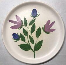 Lot1 De 6 Rares Assiettes Des Poteries Du Marais France Décor Floral D 21 Cm